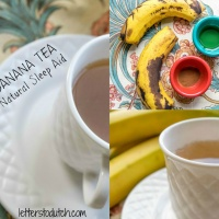 BANANA TEA a Natural Sleep Aid