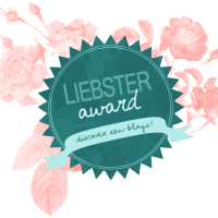 LIEBSTER AWARD & 50th POST!