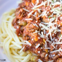 Slow Cooker Ragu With Veggies