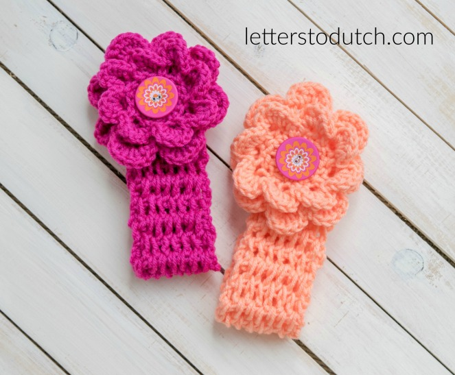 Crochet Newborn Headbands Letters To Dutch