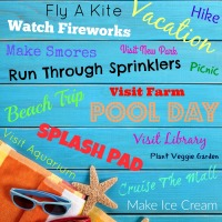 Fun Ideas for Your Family Summer Bucket List