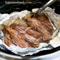 How to Slow Cook Tri-Tip