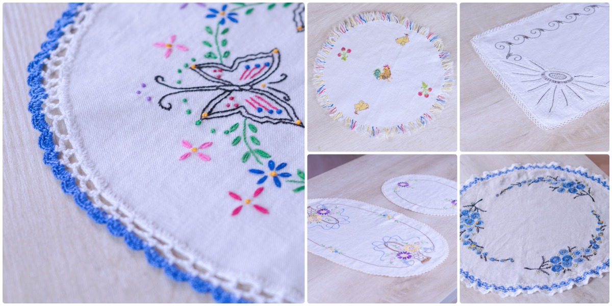 Another Round of Vintage Linens at Two Ladies Boutique